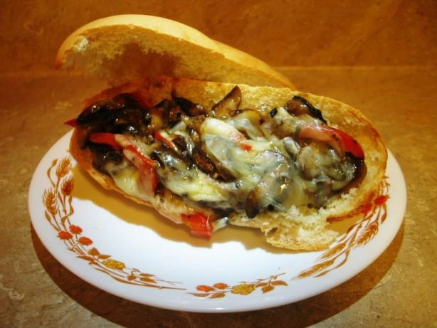 Portobello philly Cheese Steak Sandwich Recipe - Food.com