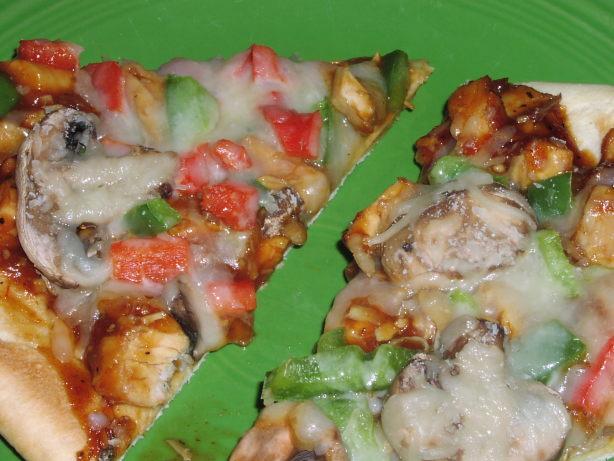 Low fat barbecue chicken pizza recipe