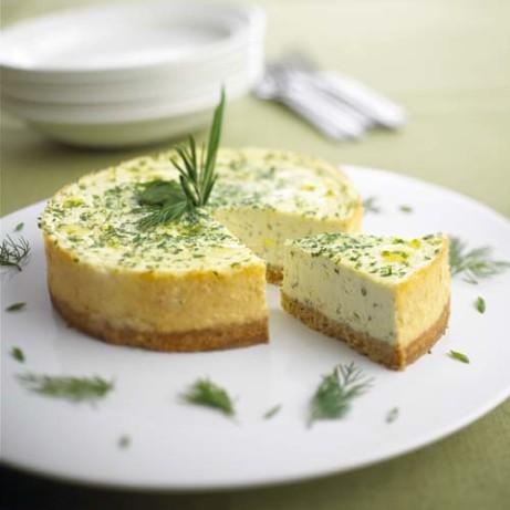Savory Chavrie Herb Cheesecake Recipe Food Com