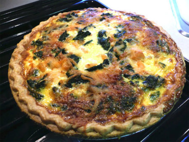 Seafood Quiche Recipe Food Network