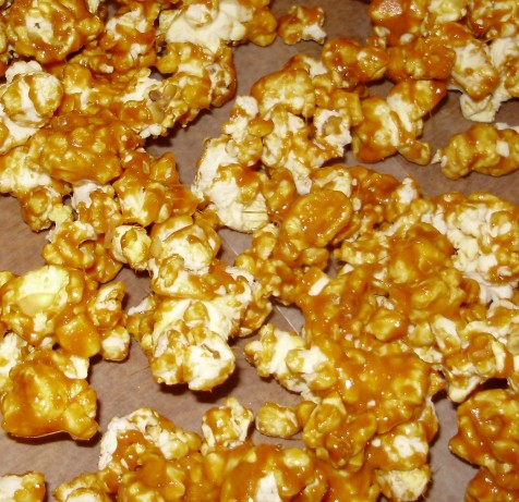 how to make caramel corn with white sugar