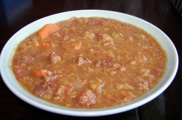 Lentil Soup With Ham And Bacon Crock Pot, Slow Cooker) Recipe - Food ...