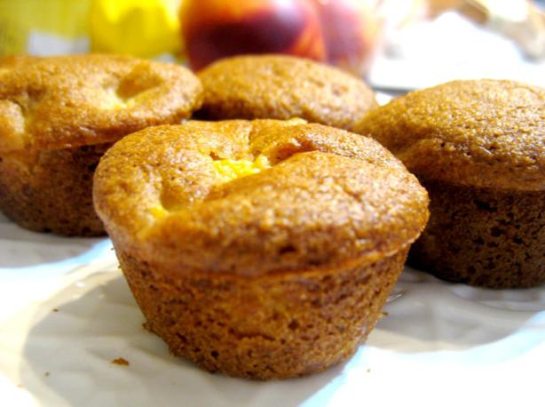 Peach Bran Muffins Recipe — Dishmaps