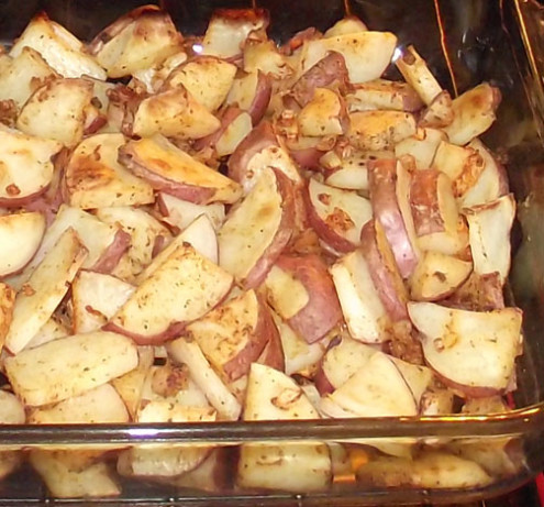 Abbies Spicy Oven-Roasted Potatoes Recipe - Food.com