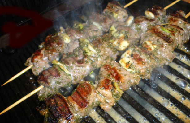 Spiced Lamb Skewers Recipe - Food.com