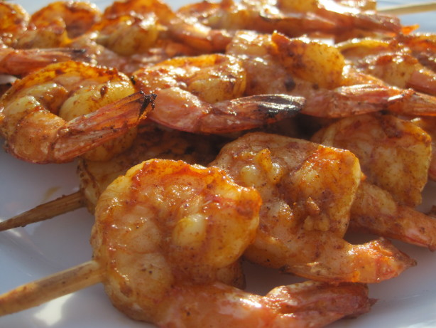 Spicy Grilled Shrimp Skewers Recipe - Food.com