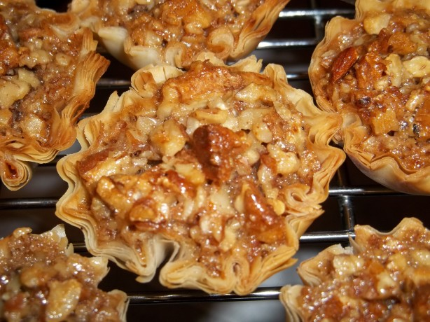 Mini Pecan Phyllo Tarts Recipes — Dishmaps