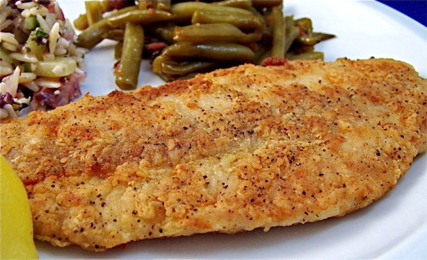Easy lightly fried fish thyme and spices mediterranean for How to fry fish with egg and flour