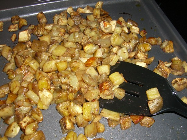 Roasted Eggplant For Pasta And Recipes Recipe - Food.com