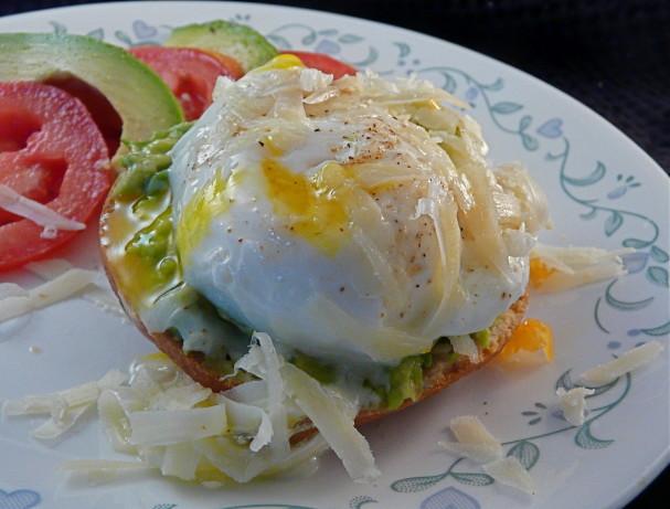 Poached Eggs And Avocado Toasts Recipe - Food.com