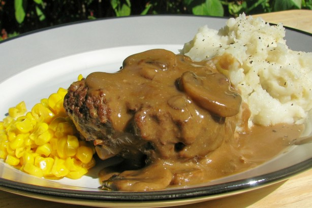 Salisbury Steak With Mushroom Gravy Recipe - Food.com