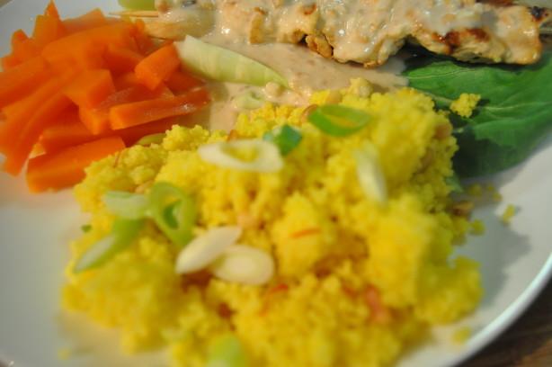 Saffron-Scented Couscous With Pine Nuts Recipe - Food.com