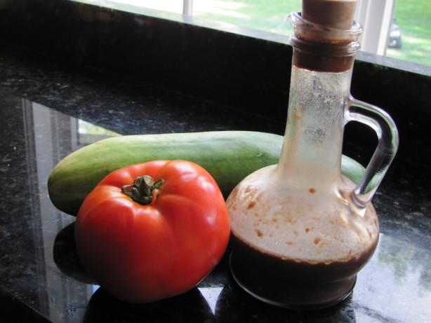 Light Balsamic Vinaigrette Salad Dressing