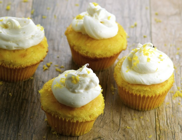 Lemon Cupcakes With Lemon Cream Cheese Frosting Recipe - Food.com