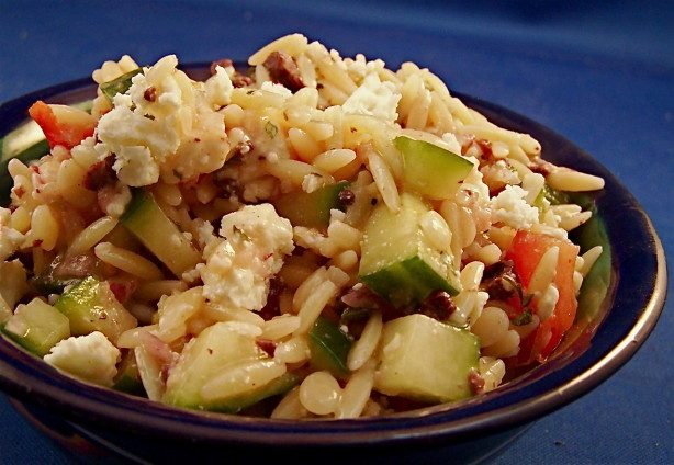 Greek Orzo Salad Recipe - Food.com