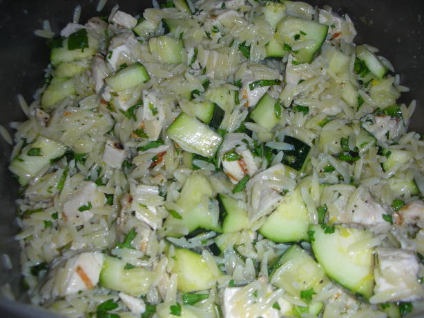 Lemon Orzo Salad With Zucchini And Fresh Herbs Recipe - Food.com