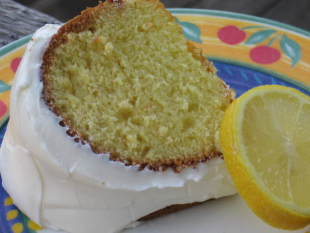 Super Moist Cake Mix Lemon Pound Cake Recipe Food Com