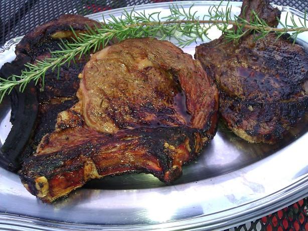 Guinness Marinated Rib Eye Steaks Recipe - Food.com