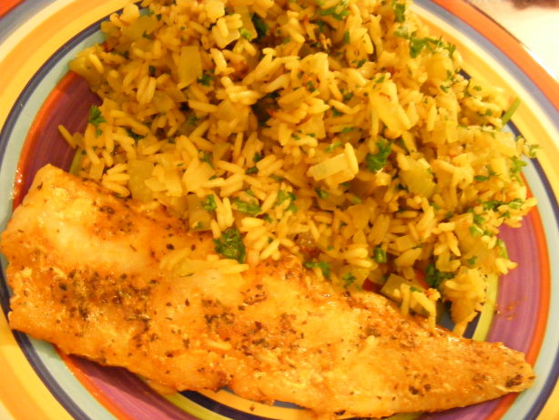 Cajun fish and rice pilaf 21 day wonder diet day 19 for Fish and rice diet