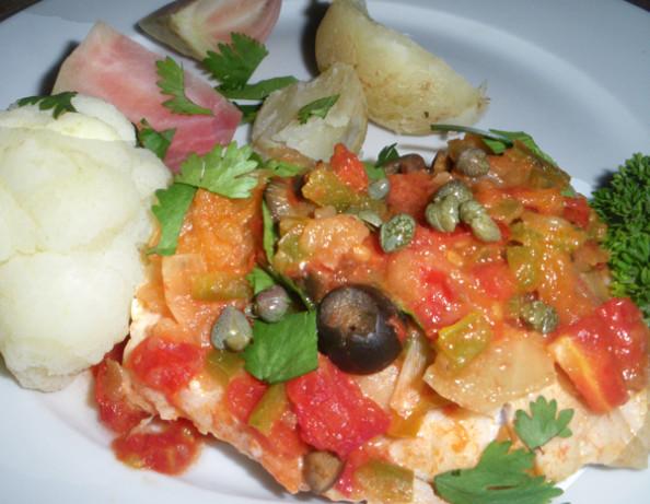 Veracruzana fish recipe mexican for Mexican fish dishes
