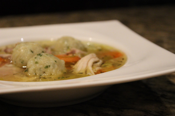Marthas Chicken Soup With Parsley Dumplings Recipe - Food.com