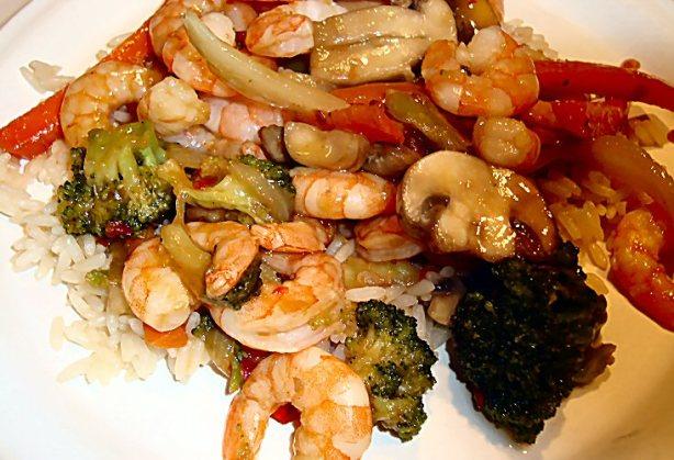 Sweet And Spicy Shrimp Stir-Fry Recipe - Food.com