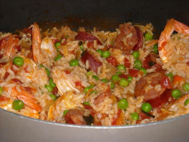Another Quick Shrimp And Chorizo Paella Recipe - Food.com