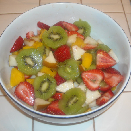 new zealand fruit salad recipe