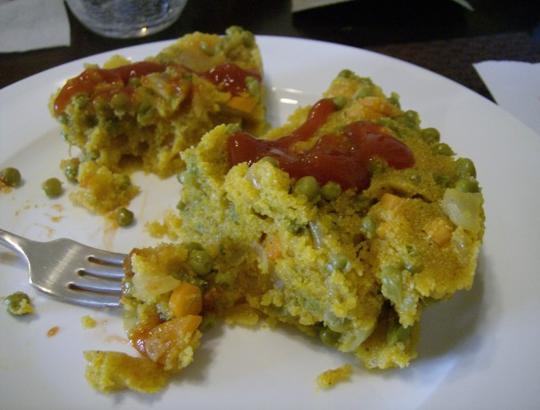 No Crust Cornmeal Polenta Vegetable Pie Recipe - Food.com