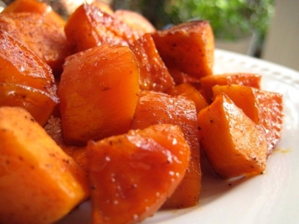 spicy sweet potatoes recipe