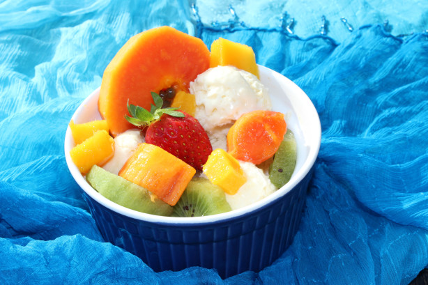 Tropical Fruit Ice Recipes — Dishmaps