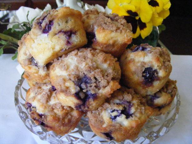 Blueberry Cream Cheese Muffins Recipe - Blue.Food.com