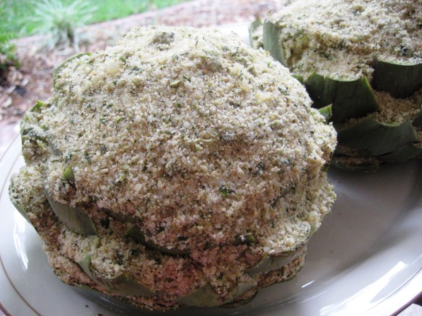 Italian Stuffed Artichokes Recipe - Italian.Food.com