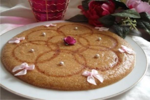 Tamina algerian toasted semolina and honey sweet recipe for Algerien cuisine