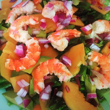 Shrimp,papaya And Avocado Salad Recipe - Food.com