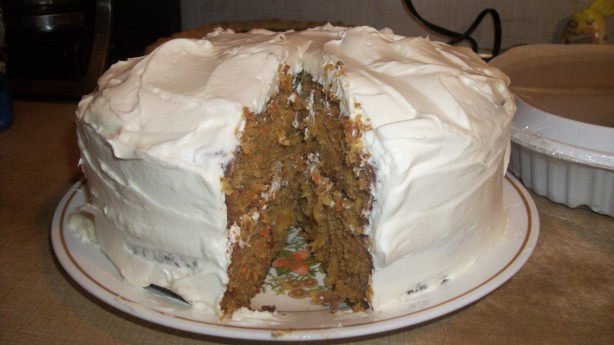 Carrot Cake With White Chocolate Cream Cheese Frosting Recipe - Food ...