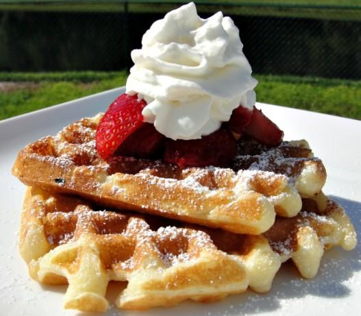 Breakfast On The Deck Sour Cream Waffles Recipe - Food.com
