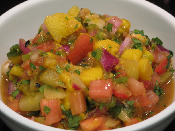 Pineapple Mango Salsa Food Network