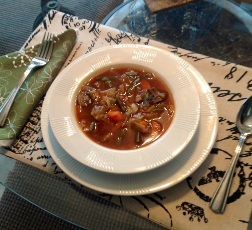 Vegetarian Cabbage Vegetable Soup Recipe - Low-cholesterol.Food.com