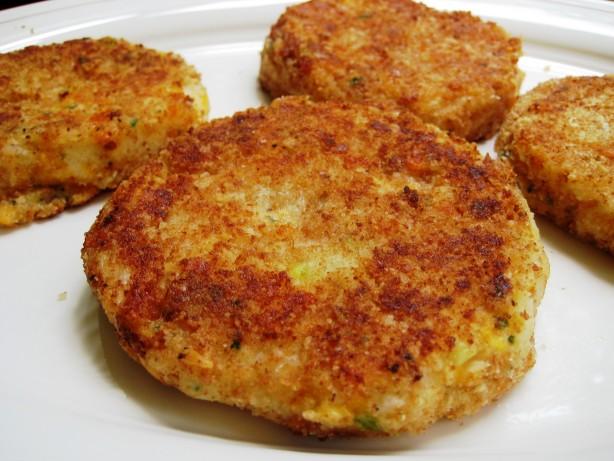Fried Potato Cakes With Mashed Potatoes