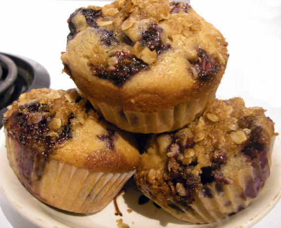 Cinnamon Streusel Blueberry Muffins Einstein Bagels ...
