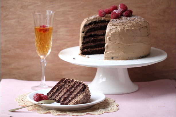 6 Layer Dreamy Chocolate Mousse Cake Paula Deen Recipe