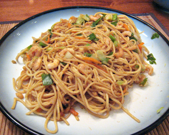 Thai noodles with peanut sauce recipe food com