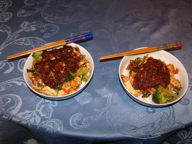 Thai Peanut Pork Noodle Saute Recipes — Dishmaps