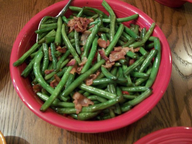 thanksgiving green beans recipe