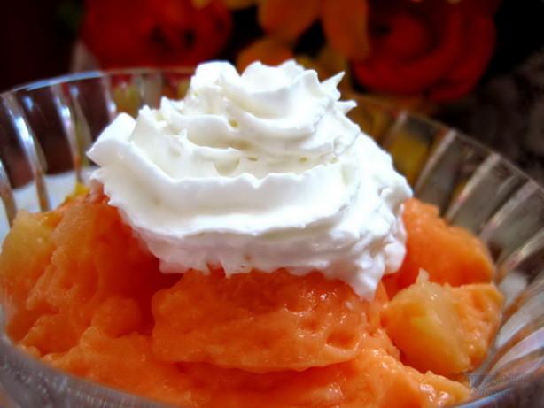 Mandarin Orange Jello Cake Recipe: Creamsicle Gelatin Recipe
