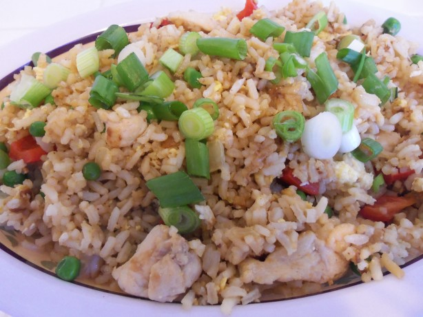 Ginger Chicken Fried Rice Recipe - Food.com