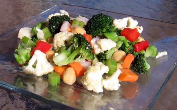 Marinated Vegetable And Bean Salad Recipe - Food.com
