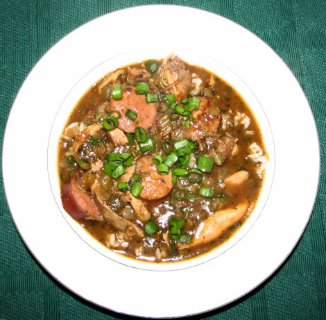 Cajun Chicken And Sausage Gumbo Recipe - Food.com