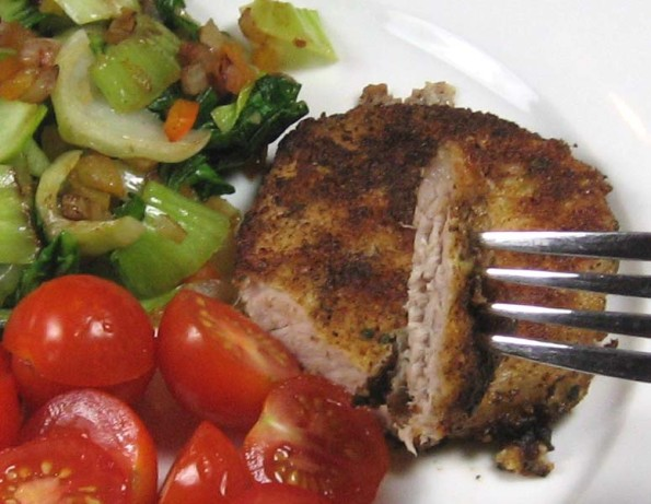 Parmesan-Sage Baked Pork Chops Recipe - Food.com
